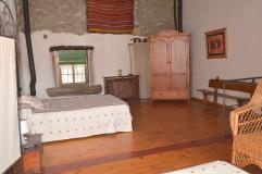 Dormitorio de la casa rural Al Patio