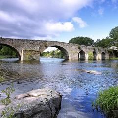 Puente sobre el río Tormes