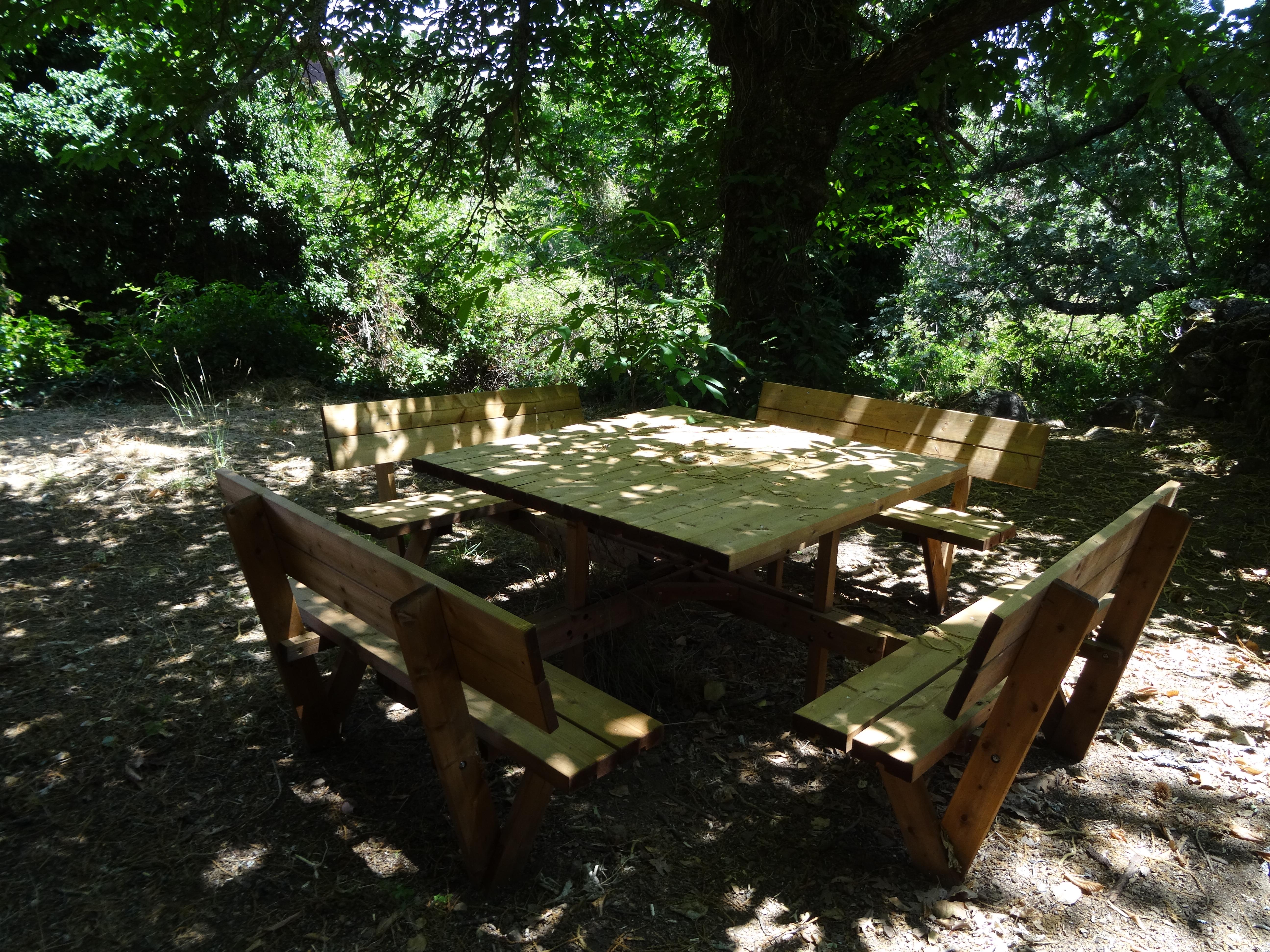 Área de picnic para grupos